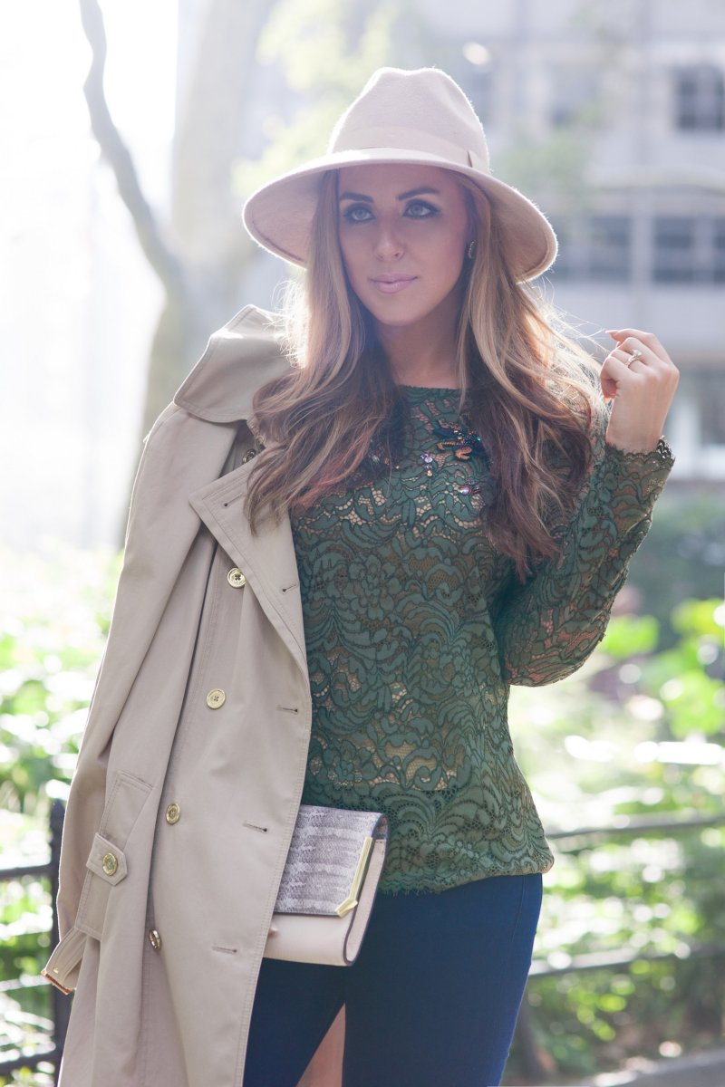 Blush Olive Fall 2015 Trends NYFW