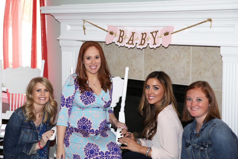 Gold Pink Princess Baby Shower