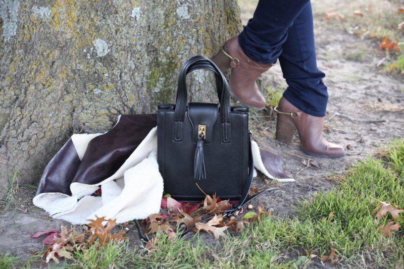 Fall 2015 Iowa Blogger Fashion Style Flannel Vest