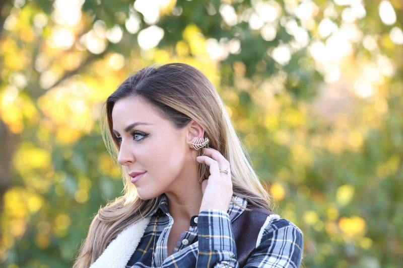 Olivia Palermo Bauble Bar Ear Crawler Fashion Blogger Denver
