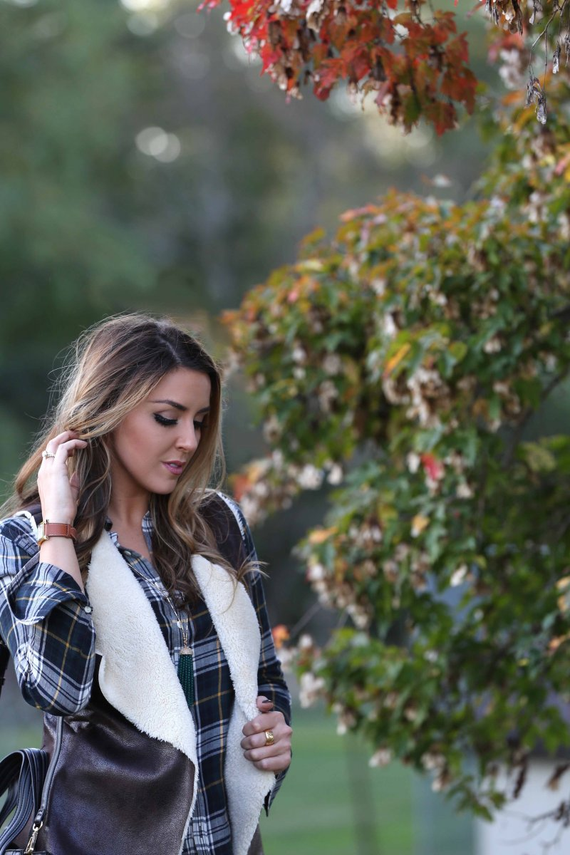 Fall 2015 Iowa Blogger Fashion Personal Style Flannel