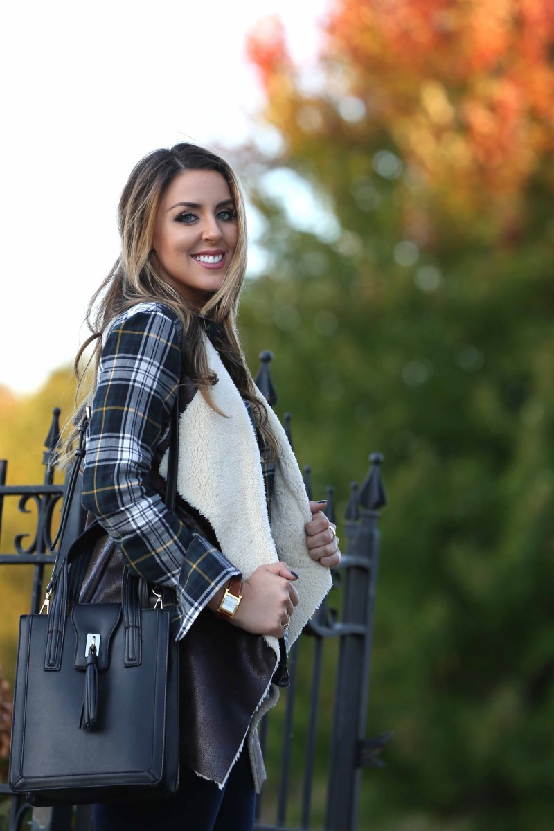 Fall Style 2015 Iowa Denver Fashion Blogger Lifestyle Tassel Bag