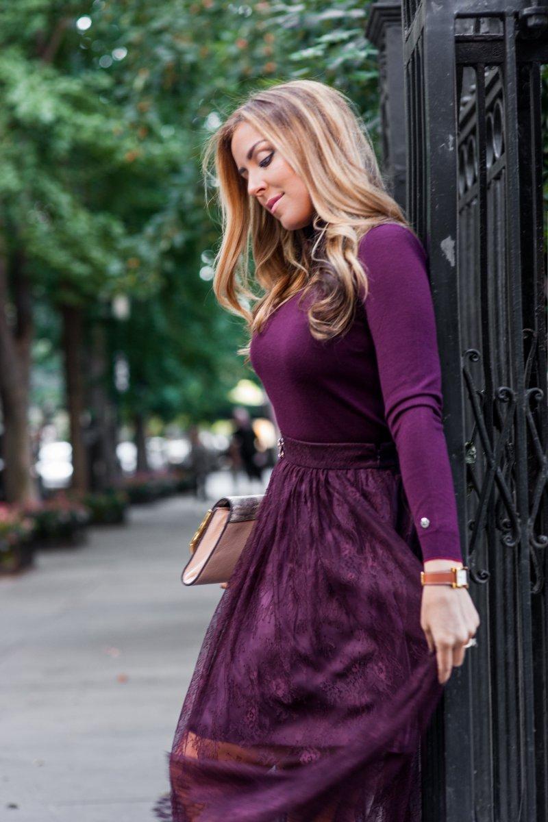 Marsala Burgundy Fall 2015 Fashion Trend