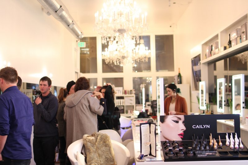 Fluff Blowout Bar Denver Sips and Styles Event