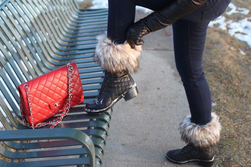 Faux Fur Boot Cuffs
