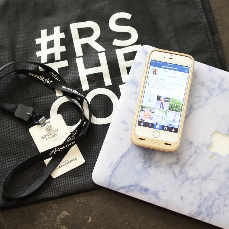 rewardStyle Conference Instagram Roundup