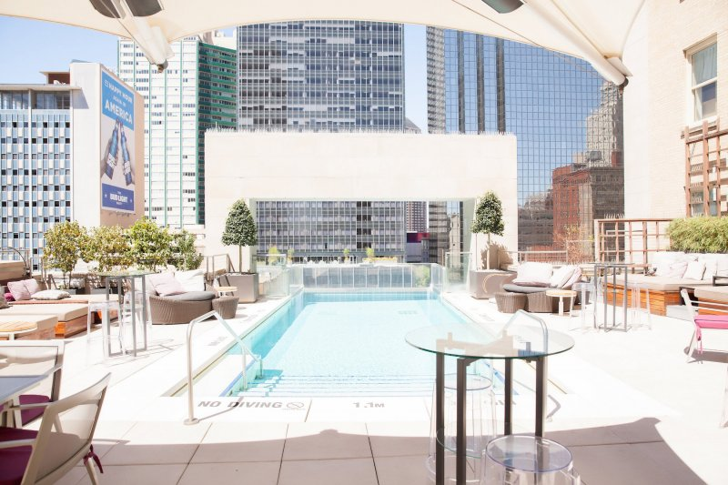 The Joule Dallas Pool