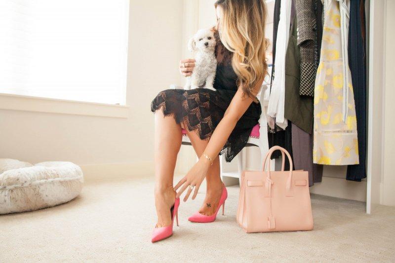 Fashion Blogger Custom Closet Getting Ready