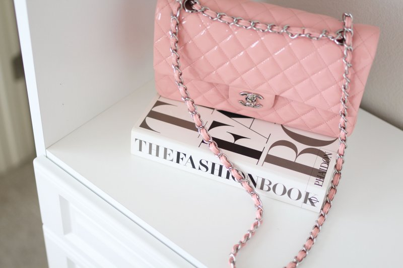 Pink Chanel Bag Fashion Blogger Custom Closet