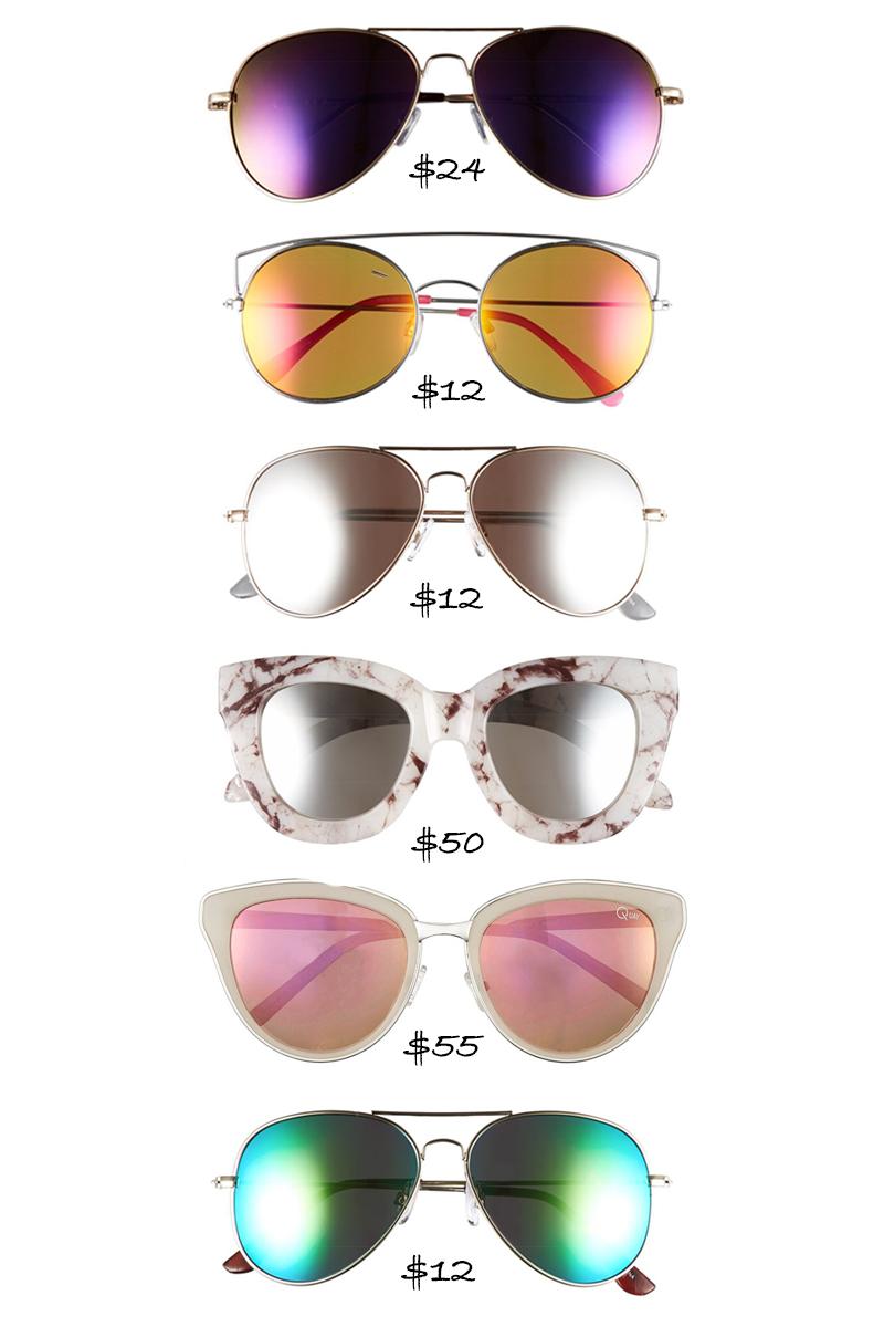 Mirrored Sunglasses Summer 2016