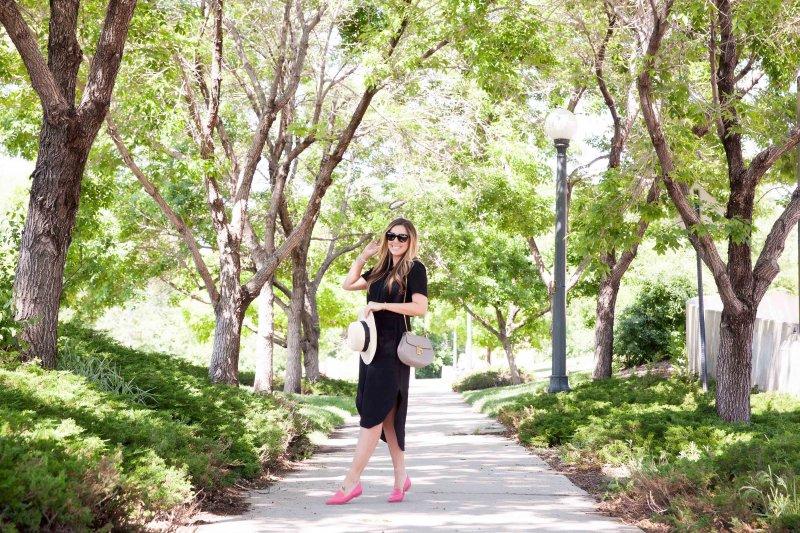 rachel-parcell-black-dress