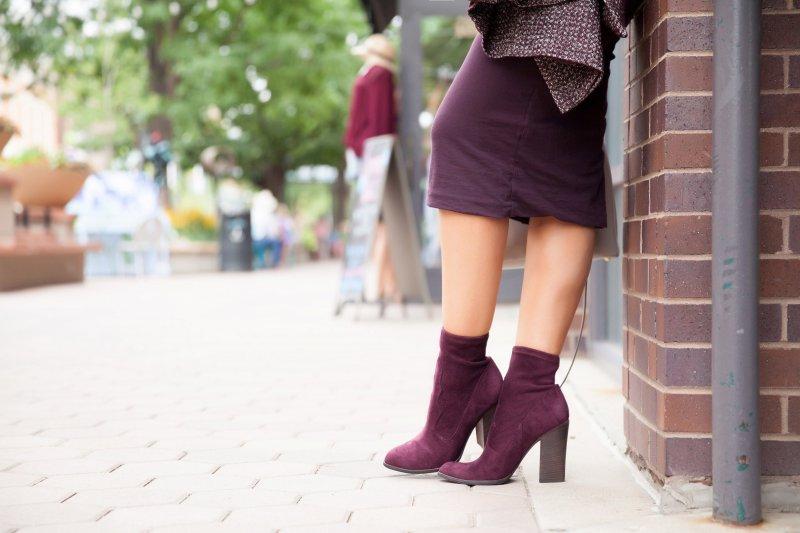 burgundy-suede-booties-block-heel