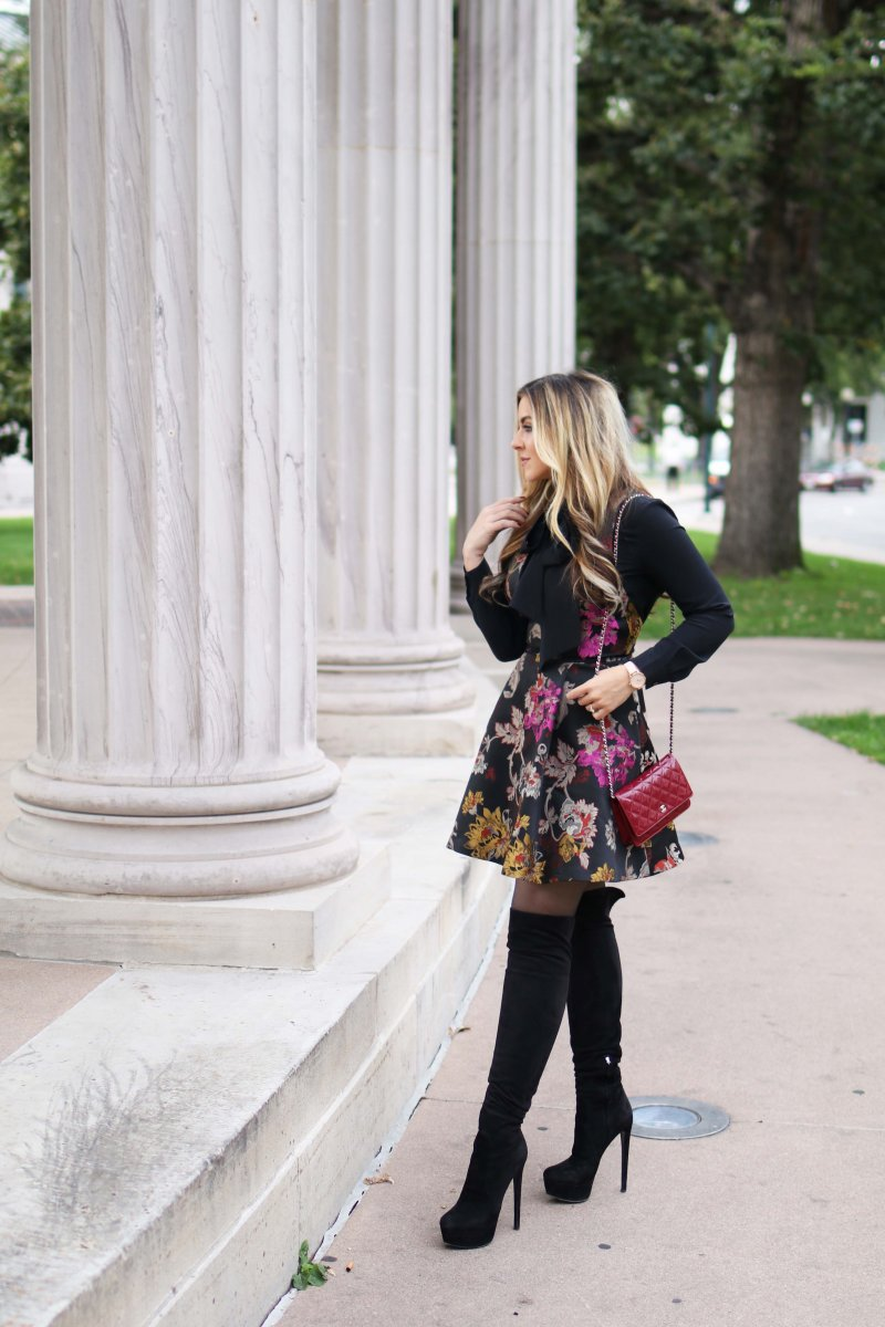 floral-brocade-dress