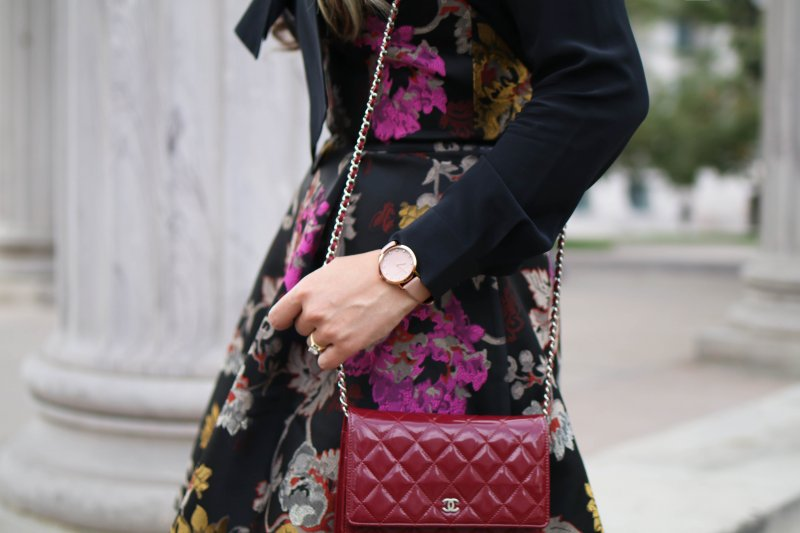 alice-and-olivia-floral-brocade-dress