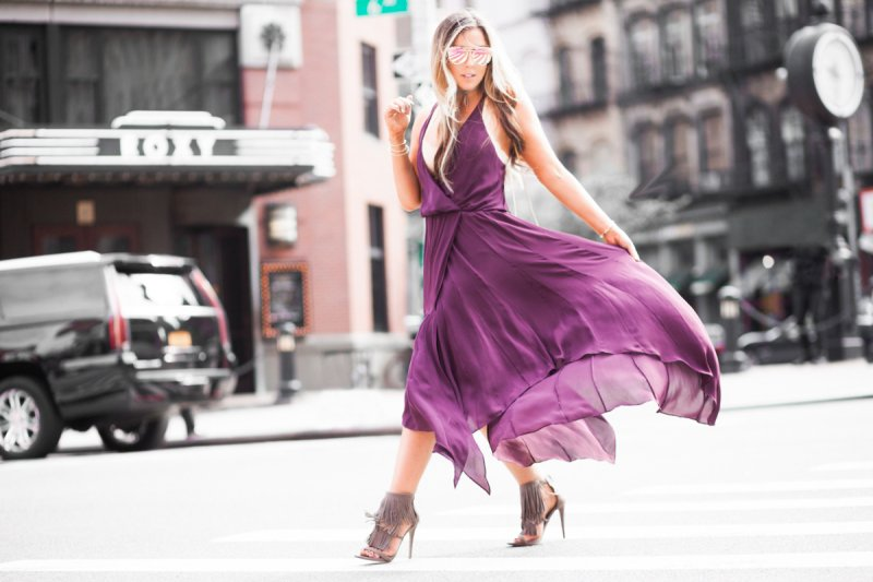 nyfw-blogger-burgundy-dress