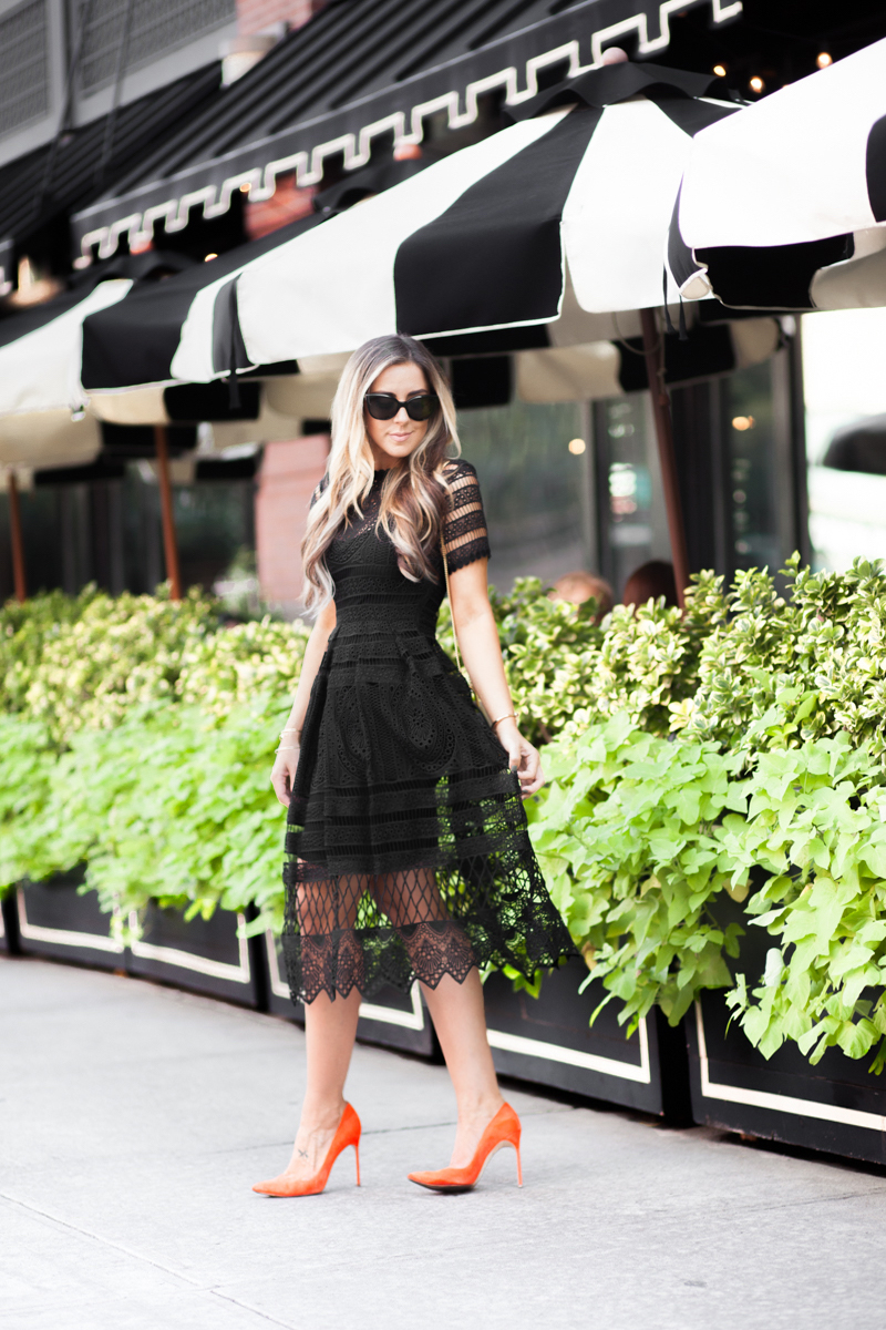 nyfw-black-lace-dress-blogger