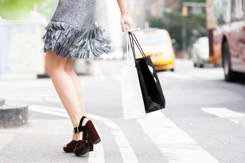 NYFW Fashion Blogger Prada Shoes