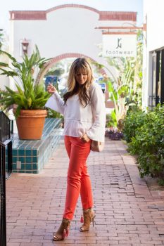 linen-bell-sleeve-top-and-coral-pants