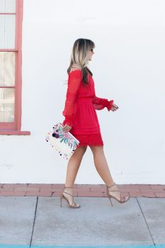 red-off-shoulder-lace-dress
