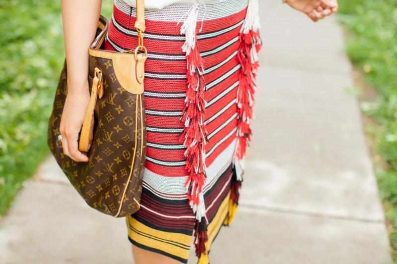 fringe-striped-skirt