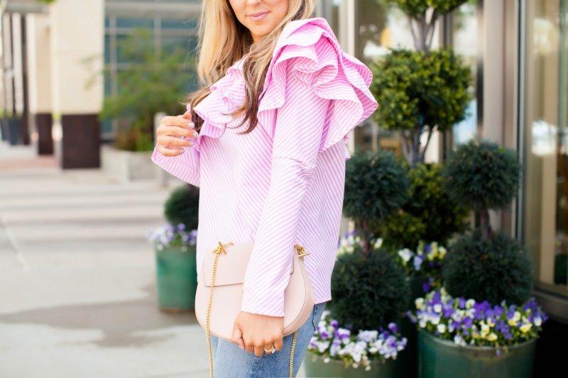 pink chloe drew bag