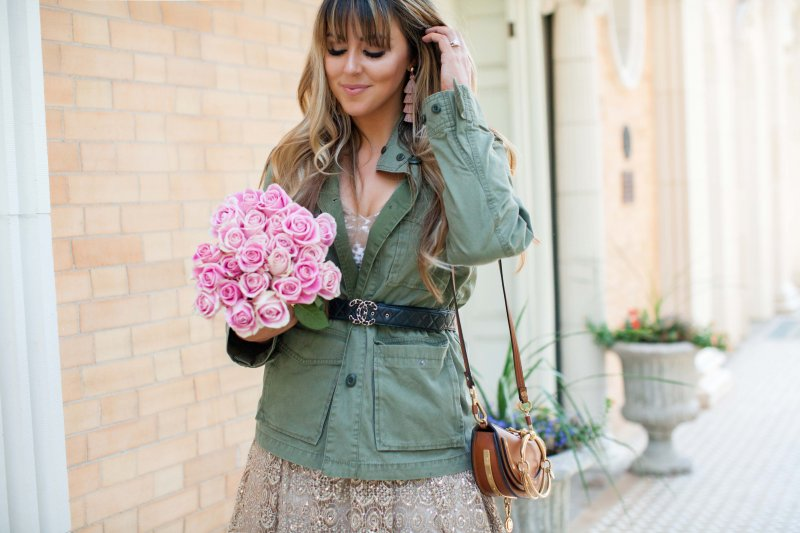blush-pink-and-olive-green-outfit