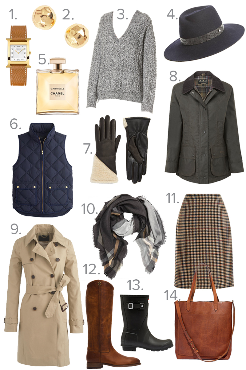 classic fall staples