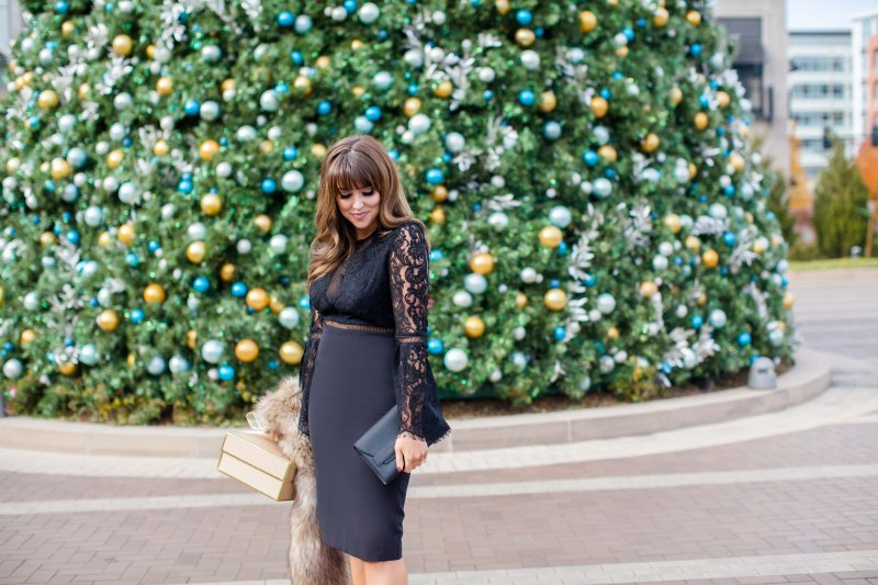 black nye dress