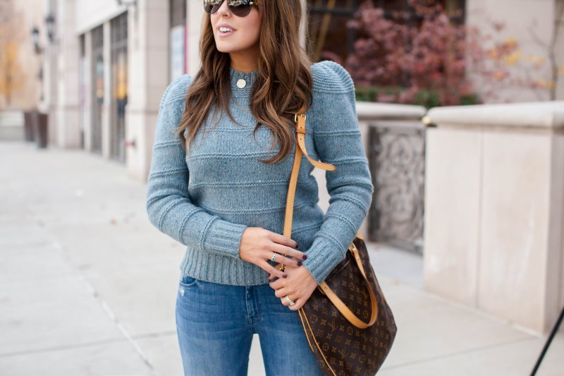 tweed donegal sweater