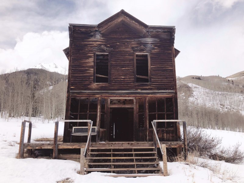 haunted ghost town