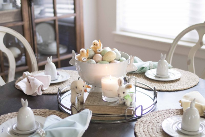 spring table styling