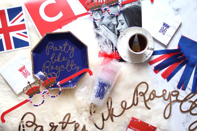 royal wedding party favors