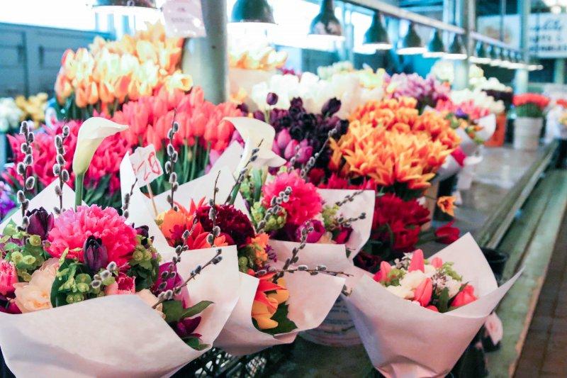 pike place market bouquets