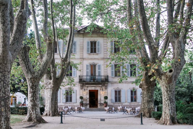 french chateau provence