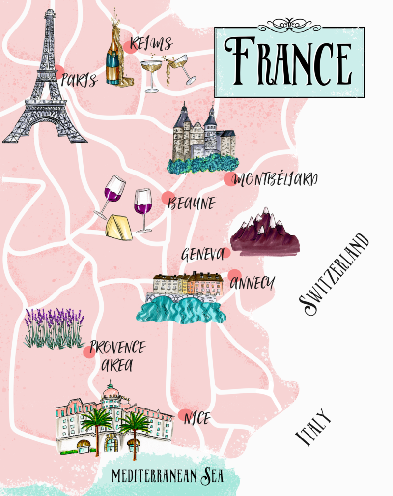 the cashmere gypsy france trip itinerary