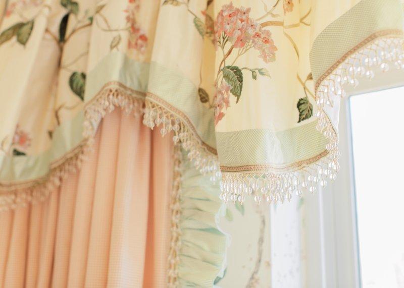 custom nursery drapery