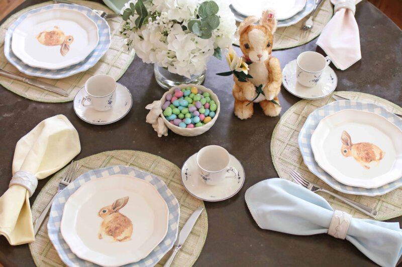 Spring Breakfast Table